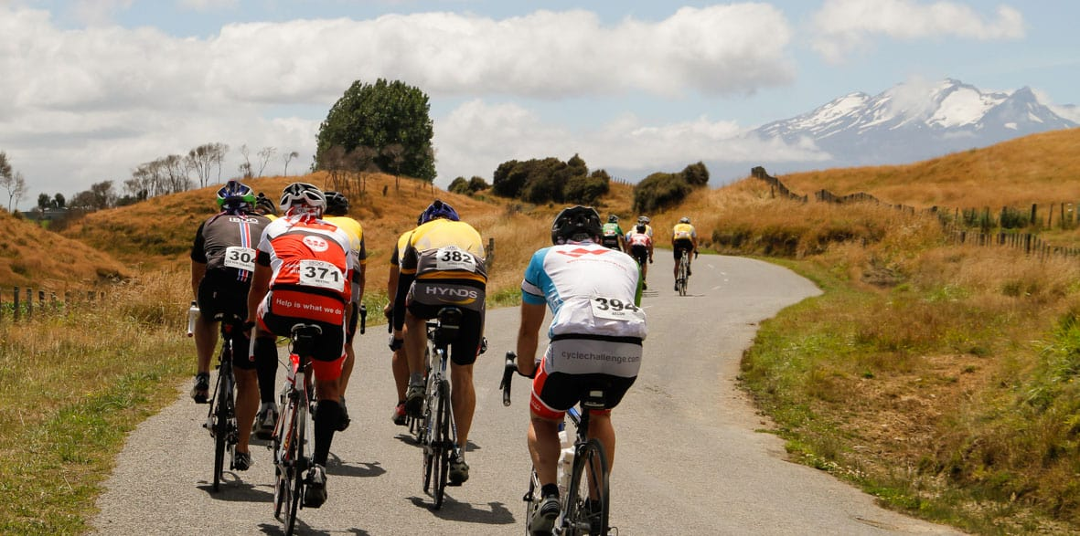 Wellington to Auckland Cycle Challenge