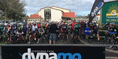 Start of Hamilton WS Ride 2015