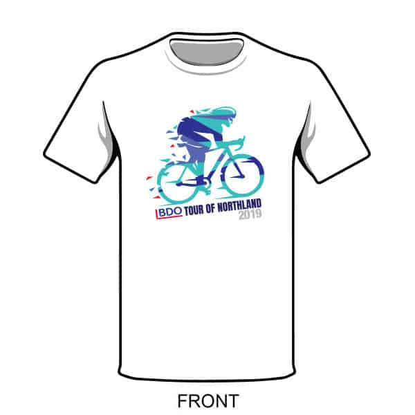 Dynamo Events - Tour of Northland - T-Shirt 2019 - Front