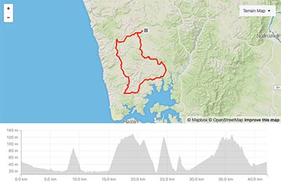 Winter Fun Rides Te Akau 42km