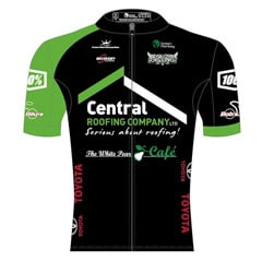 Team Championship Jersey - Central Roofing / Revolution Cycling Team