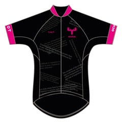 Team Championship Jersey - Pink Moose Cycling