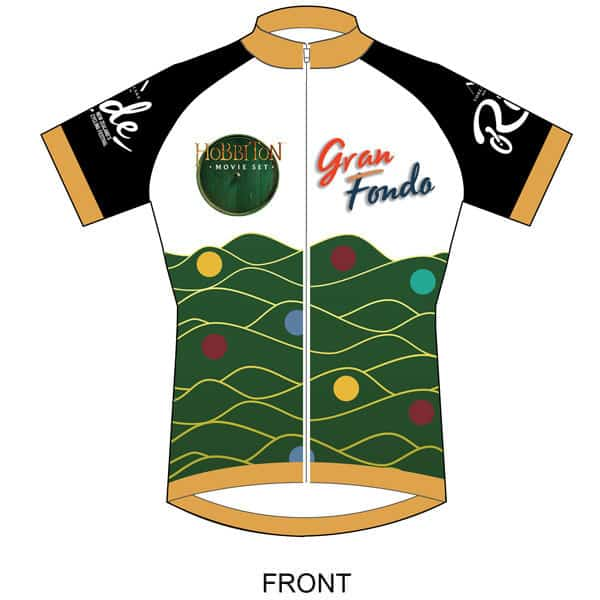 Dynamo Events - New Zealand Gran Fondo - Jersey 2020 - Front